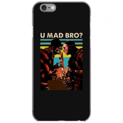 Freddy Krueger And Jason Voorhees U Mad Bro Funny Halloween Iphone 6/6s Case Designed By Pinkanzee