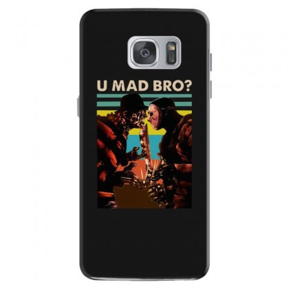 Freddy Krueger And Jason Voorhees U Mad Bro Funny Halloween Samsung Galaxy S7 Case Designed By Pinkanzee