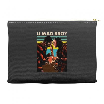 Freddy Krueger And Jason Voorhees U Mad Bro Funny Halloween Accessory Pouches Designed By Pinkanzee