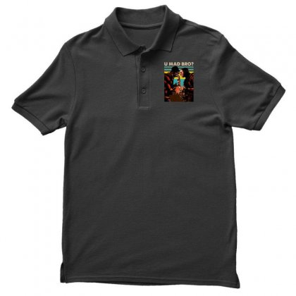 Freddy Krueger And Jason Voorhees U Mad Bro Funny Halloween Men's Polo Shirt Designed By Pinkanzee