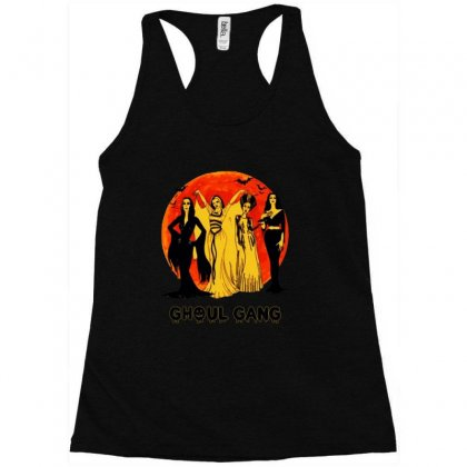 Elvira, Morticia, Lily, Bride Ghoul Gang Halloween Classic Racerback Tank Designed By Pinkanzee