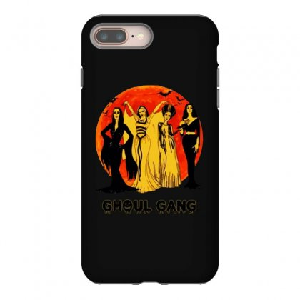 Elvira, Morticia, Lily, Bride Ghoul Gang Halloween Classic Iphone 8 Plus Case Designed By Pinkanzee
