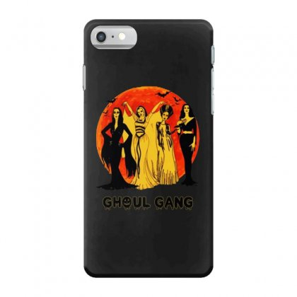 Elvira, Morticia, Lily, Bride Ghoul Gang Halloween Classic Iphone 7 Case Designed By Pinkanzee