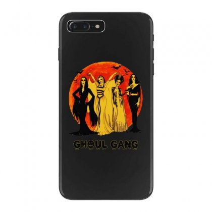 Elvira, Morticia, Lily, Bride Ghoul Gang Halloween Classic Iphone 7 Plus Case Designed By Pinkanzee