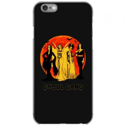 Elvira, Morticia, Lily, Bride Ghoul Gang Halloween Classic Iphone 6/6s Case Designed By Pinkanzee