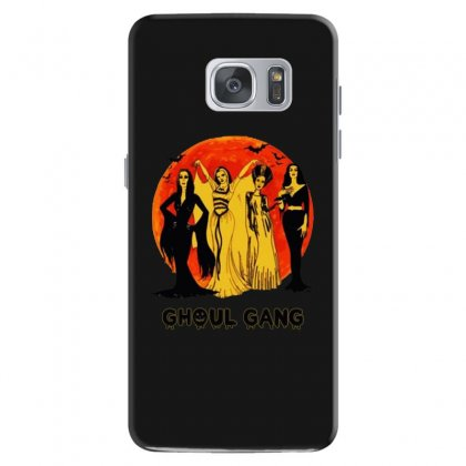 Elvira, Morticia, Lily, Bride Ghoul Gang Halloween Classic Samsung Galaxy S7 Case Designed By Pinkanzee
