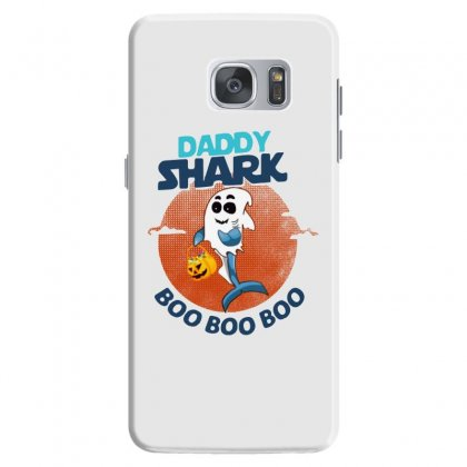 Daddy Shark Boo Boo Boo Shark Ghost Halloween Samsung Galaxy S7 Case Designed By Pinkanzee