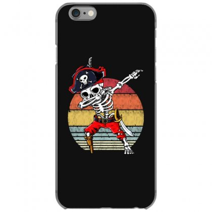 Dabbing Skeleton Pirate Halloween Jolly Roger Iphone 6/6s Case Designed By Pinkanzee