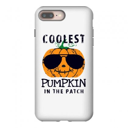 Coolest Pumpkin In The Patch Funny Halloween Iphone 8 Plus Case Designed By Pinkanzee