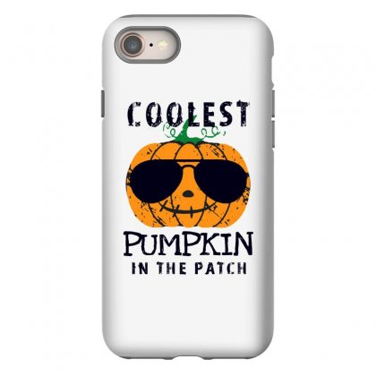 Coolest Pumpkin In The Patch Funny Halloween Iphone 8 Case Designed By Pinkanzee