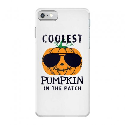 Coolest Pumpkin In The Patch Funny Halloween Iphone 7 Case Designed By Pinkanzee