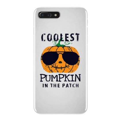 Coolest Pumpkin In The Patch Funny Halloween Iphone 7 Plus Case Designed By Pinkanzee