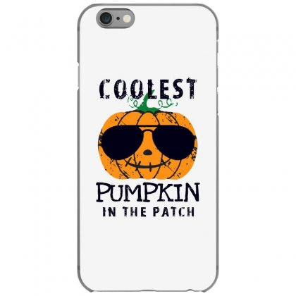 Coolest Pumpkin In The Patch Funny Halloween Iphone 6/6s Case Designed By Pinkanzee