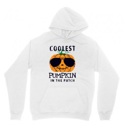 Coolest Pumpkin In The Patch Funny Halloween Unisex Hoodie Designed By Pinkanzee