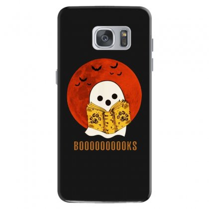 Boo Read Books Fuuny Halloween Boo Samsung Galaxy S7 Case Designed By Pinkanzee