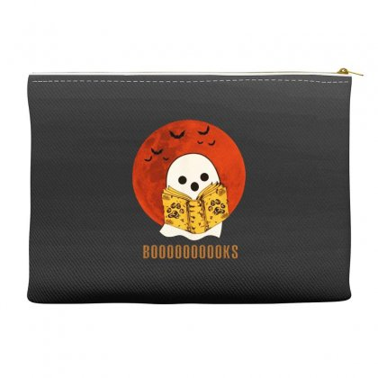 Boo Read Books Fuuny Halloween Boo Accessory Pouches Designed By Pinkanzee