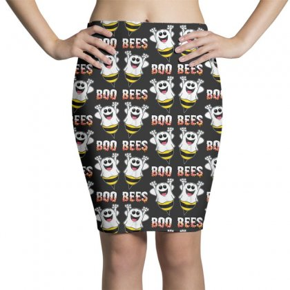 Boo Bees Couples Halloween Costume Pencil Skirts Designed By Pinkanzee
