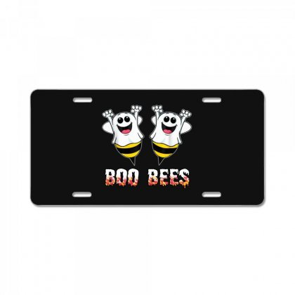 Boo Bees Couples Halloween Costume License Plate Designed By Pinkanzee
