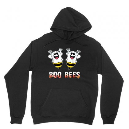 Boo Bees Couples Halloween Costume Unisex Hoodie Designed By Pinkanzee