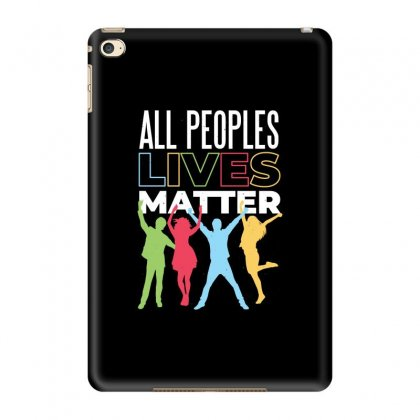 Lives Matter T-shirts Ipad Mini 4 Case Designed By Mdtees