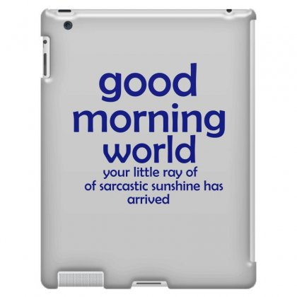 Funny Sarcastic Ipad 3 And 4 Case Designed By Leila