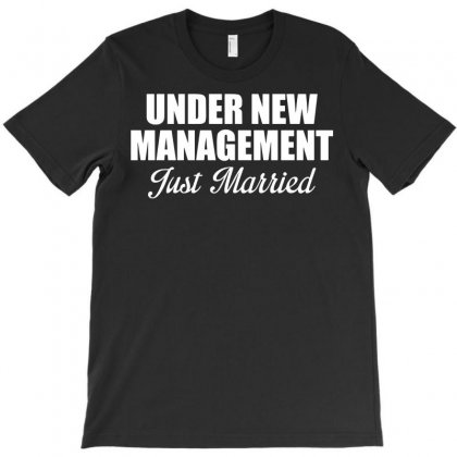 Just Married T-shirt Designed By Rahmatika