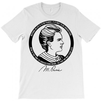 Marie Curie T-shirt Designed By Rahmatika