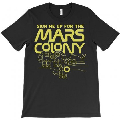 Mars Colony T-shirt Designed By Rahmatika