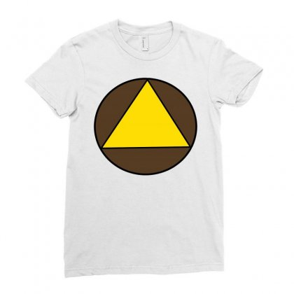 Legion Triangle! Ladies Fitted T-shirt Designed By Jetspeed001