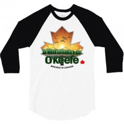 o'keefe brewery   brewed in canada 3/4 Sleeve Shirt | Artistshot