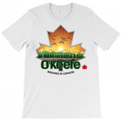 o'keefe brewery   brewed in canada T-Shirt | Artistshot
