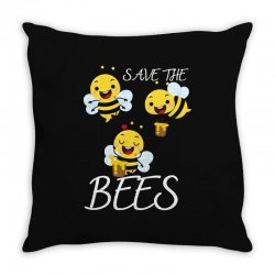 the seve bees Throw Pillow | Artistshot