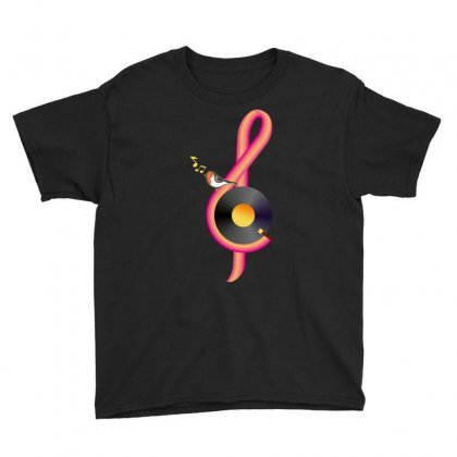 Clef Musical Youth Tee Designed By Wizarts