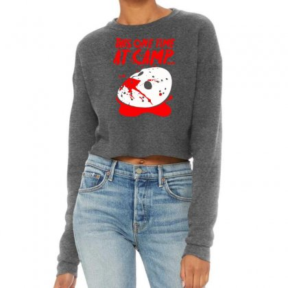 Women's This One Time At Camp Cropped Sweater