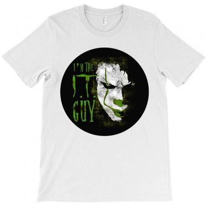 I'm The It Guy Scary Horror T-shirt Designed By Sabriacar