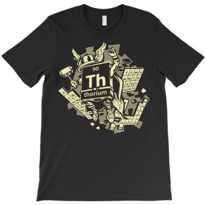 Mighty Thorium T-shirt Designed By Rahmatika