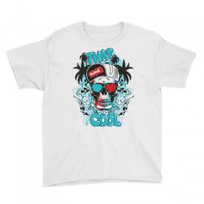 That Cool, Skull Youth Tee Designed By Estore