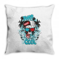 That cool, Skull Throw Pillow | Artistshot