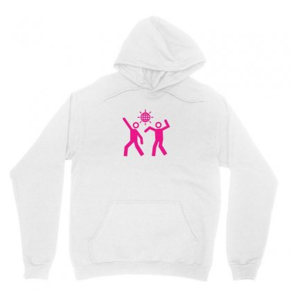 Couple Dancing In The Disco Party Unisex Hoodie