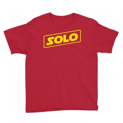 Han Solo Youth Tee Designed By Fashionartis69