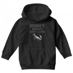 honey badger dont care Youth Hoodie | Artistshot