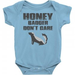 honey badger dont care Baby Bodysuit | Artistshot