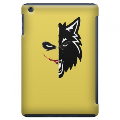 The Joker And Wolf Ipad Mini Case Designed By Hassan Agwa
