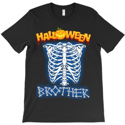 Halloween Family T-shirts ( Brother ) T-shirt Designed By Sabriacar