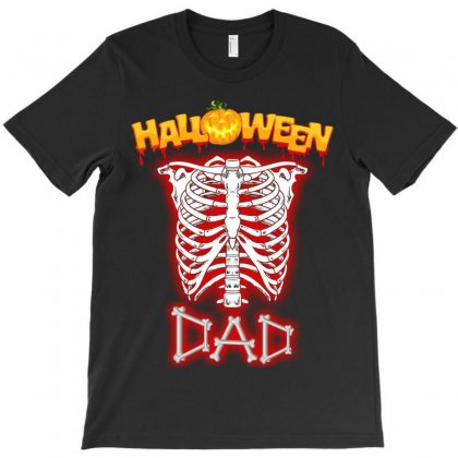Halloween Family T Shirts. ( Dad ) T-shirt Designed By Sabriacar
