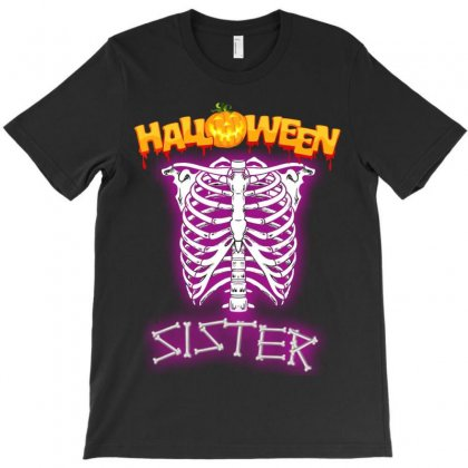 Halloween Family T Shirts ( Sister ) T-shirt Designed By Sabriacar