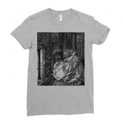 Dream Woman Vintage Female Ladies Fitted T-shirt Designed By Salmanaz