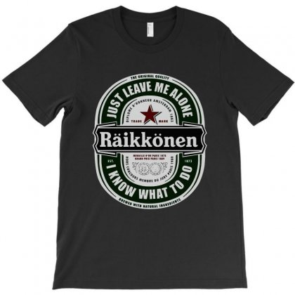 Kimi Beer T-shirt Designed By Blqs Apparel