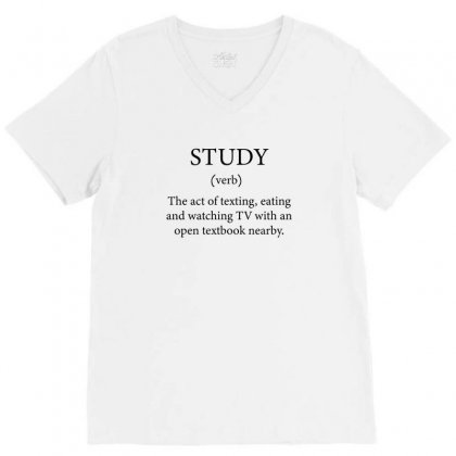 Ready For School Studies Funny T Shirt V-neck Tee Designed By Al1