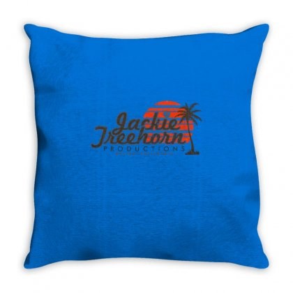 Jackie Treehorn Productions Throw Pillow Designed By Fashionartis69
